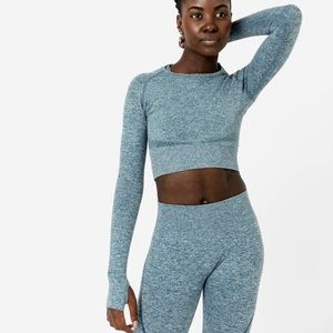 ACTA Long sleeve seamless top
